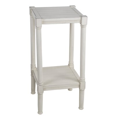 Kelch Square End Table Color: Off White