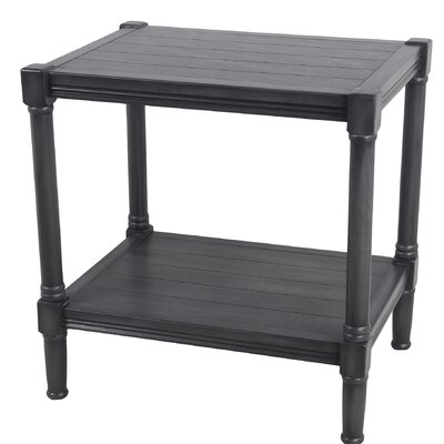 Kelemen End Table Color: Black