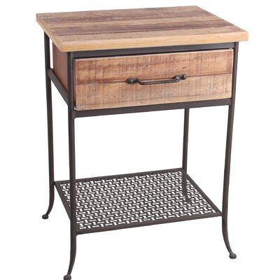 Mccullers End Table with Storage