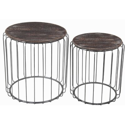 Oliveros 2 Piece Nesting Tables