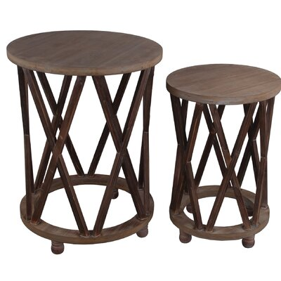 Tindle 2 Piece Nesting Tables