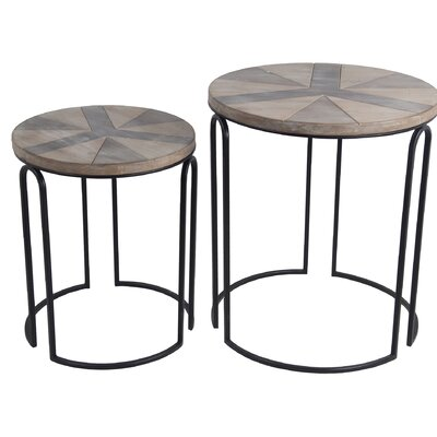 Olmstead 2 Piece Nesting Tables