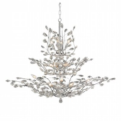 Lavigne 18-Light Crystal Chandelier