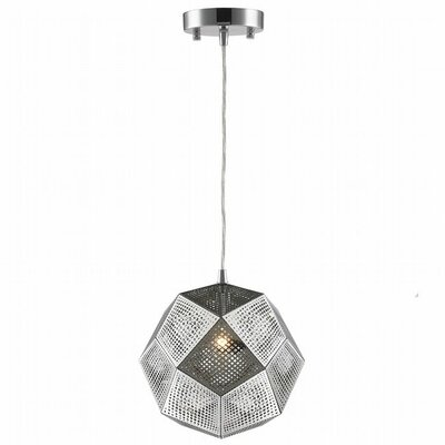 Overstreet 1-Light Globe Pendant