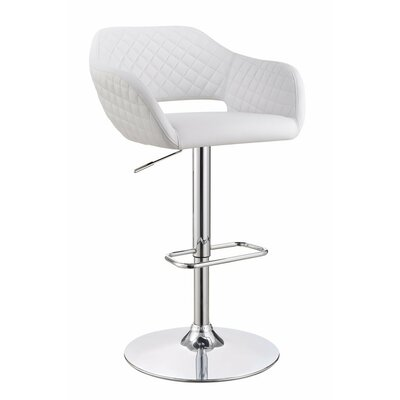Wrigley Metal Adjustable Height Swivel Bar Stool