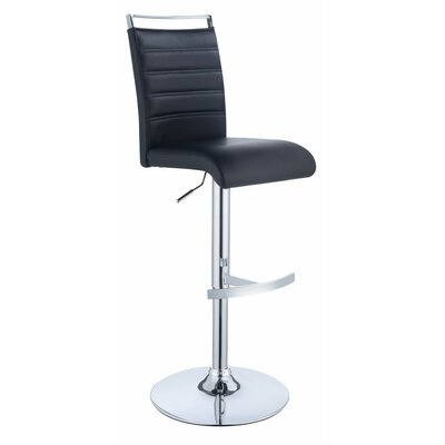 Wrington Chic Adjustable Height Swivel Bar Stool