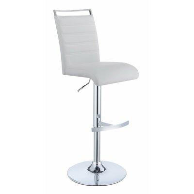 Wrobel Elegant Adjustable Height Swivel Bar Stool