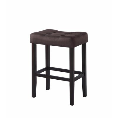 Hawkesbury Common Backless 29 Bar Stool Color: Brown