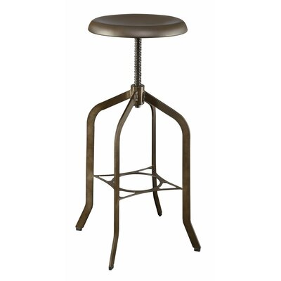 Markenfield Metal Adjustable Height Swivel Bar Stool