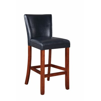 Gaier Faux Leather Bar Stool