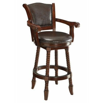 Betts Rope Twist Wooden 29 Bar Stool