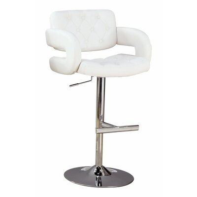Woolery Adjustable Height Swivel Bar Stool