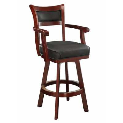 Gains Wooden 46 Bar Stool