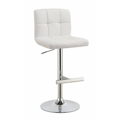 Woolley Square Adjustable Height Swivel Bar Stool