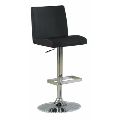 Woolridge Simple Adjustable Height Swivel Bar Stool