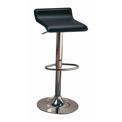 Woosley Backless Seat Adjustable Height Swivel Bar Stool