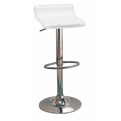 Wooster Backless Seat Adjustable Height Swivel Bar Stool