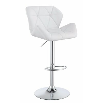 Wortham Adjustable Height Swivel Bar Stool