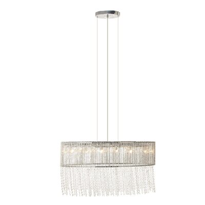 Hust Glam 1-Light Foyer Pendant