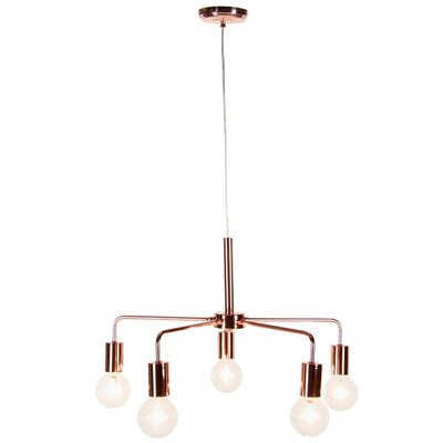 Siggers 5-Light Contemporary Cluster Pendent