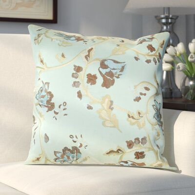 Northledge Taffeta Throw Pillow Color: Turquoise