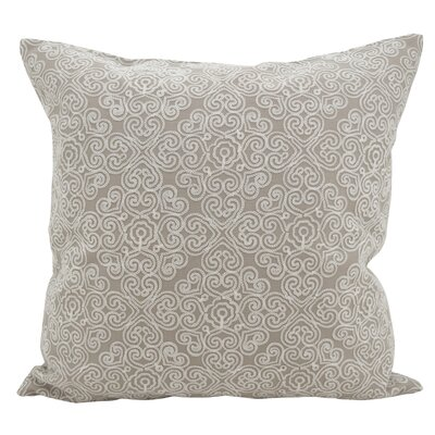 Vanvalkenburg Stitches Down Filled Throw Pillow Color: Gray