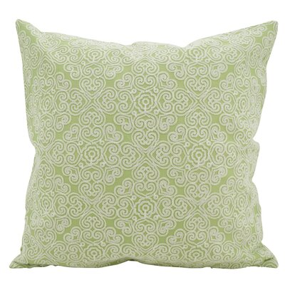 Vanvalkenburg Stitches Down Filled Throw Pillow Color: Kiwi