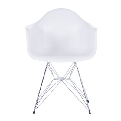 Jonah Dining Chair Color: White