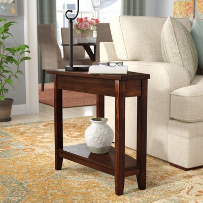 Westford End Table Color: Brown Cherry