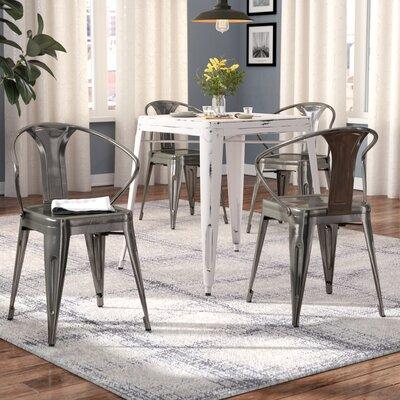 Ashlyn Dining Chair Color: Gunmetal
