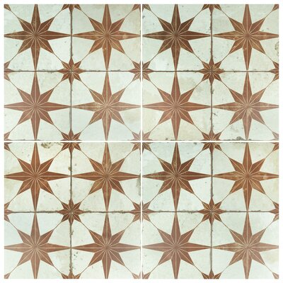 Royalty Galactic 17.63 x 17.63 Ceramic Field Tile in Oxide