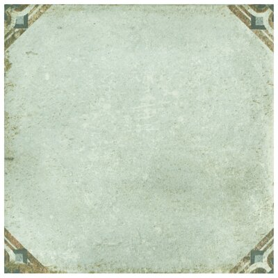 Relic D�cor 8.75 x 8.75 Porcelain Field Tile in Savona