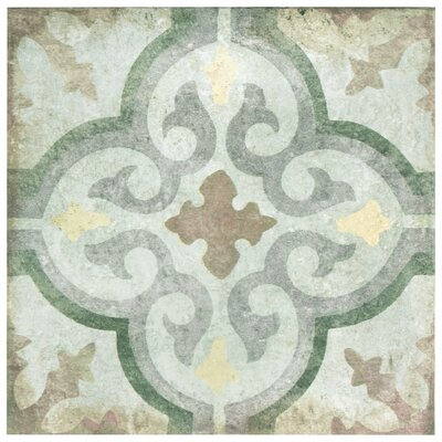 Relic D�cor 8.75 x 8.75 Porcelain Field Tile in Palazzo