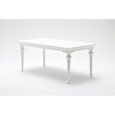 Winthrope Dining Table Size: 30 H x 35.5 W x 71 L, Top Color: White