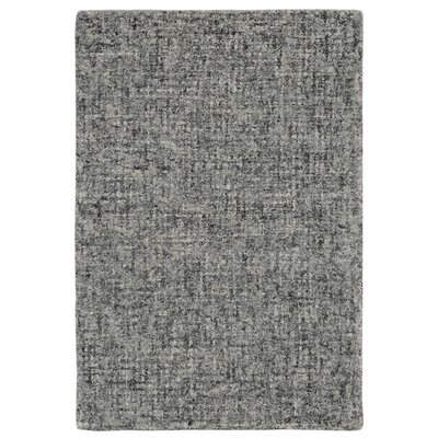 Warford Hand-Tufted Wool Gray Area Rug Rug Size: Rectangle 2 x 3