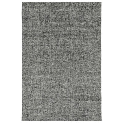 Warford Hand-Tufted Wool Gray Area Rug Rug Size: Rectangle 36 x 56