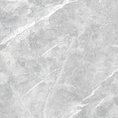 Luna Glazed 12 x 24 Porcelain Field Tile in Gray