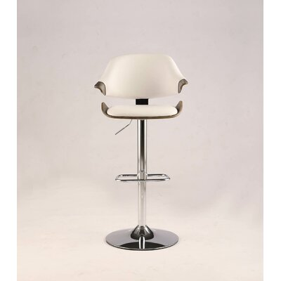 Dinh Adjustable Height Swivel Bar Stool