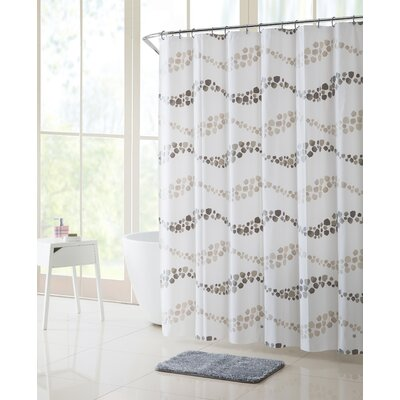Gammell Dot Wave Shower Curtain Set