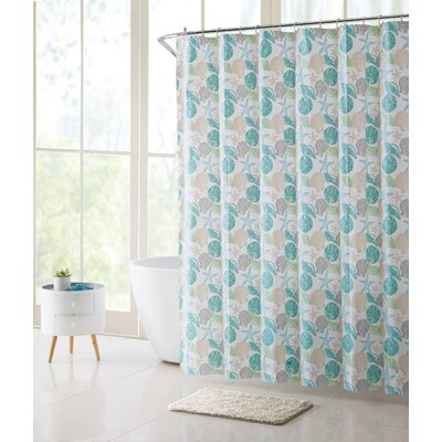 Corvin Seashells Shower Curtain Set