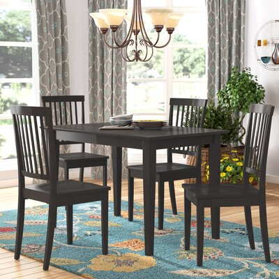 Sheridan 5 Piece Dining Set Finish: Cappucino
