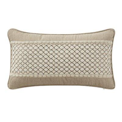 Charlize Lumbar Pillow Color: Gold