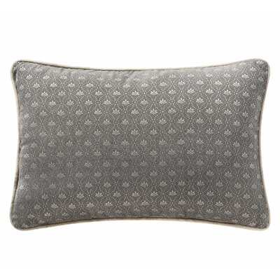 Charlize Lumbar Pillow Color: Gray