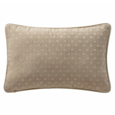 Charlize Lumbar Pillow Color: Gold