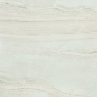SAMPLE - British Jade Full Polished Glazed Porcelain Field Tile in Beige