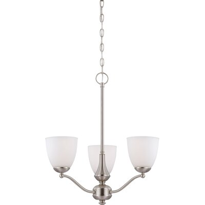 Poitras 3-Light Mini Chandelier