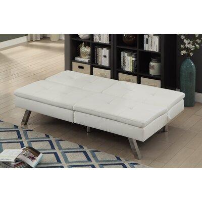 Gospodarczyk Convertible Sofa Upholstery: White