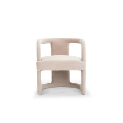 Depuy Barrel Chair Upholstery: Rosa Pink