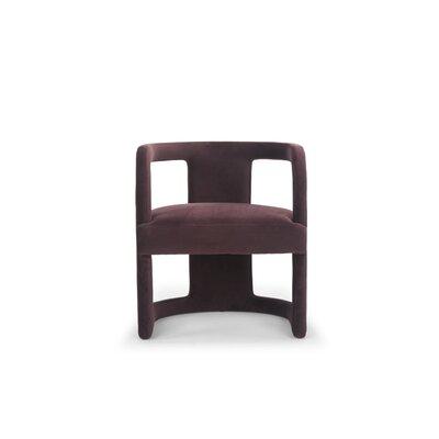 Depuy Barrel Chair Upholstery: Plum Purple