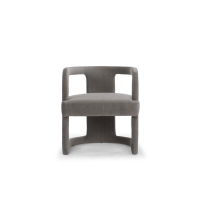 Depuy Barrel Chair Upholstery: Mouse Gray
